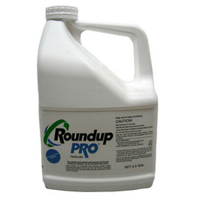 RoundUp Pro Concentrate 50.2% Glyphosate 2.5 Gal Herbicide Weed Brush Killer