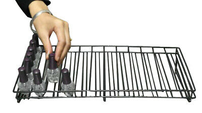 Metal Wire Nail Polish Bottle Tabletop Countertop Display Rack Organizer Holder