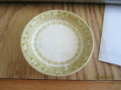 "ANTIQUE BUTTER PAT ""MATLOCK""  WATERLOO POTTERIES ROYLE T&R Boote ENGLAND 3.25"""