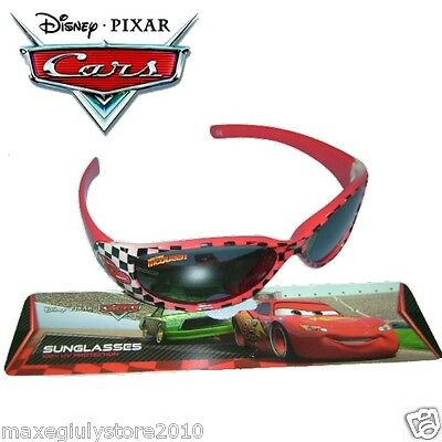 OCCHIALI SOLE CARS SAETTA MC QUEEN DISNEY PIXAR ORIGINALI ROSSI glasses CARS12