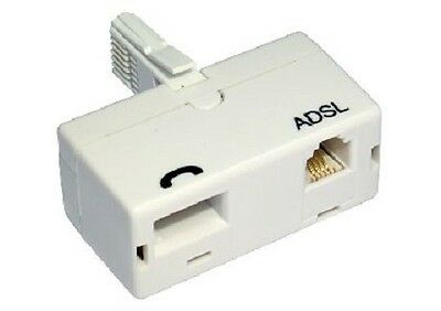 ADSL Filter Broadband Internet Microfilter /Splitter UK