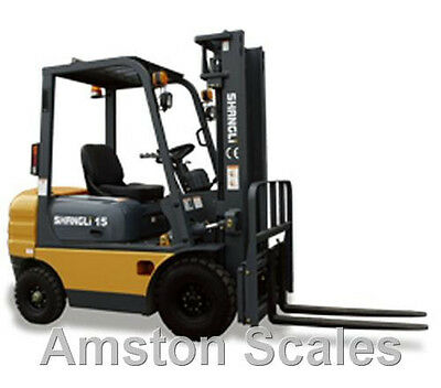 FORKLIFT HYDRAULIC SCALE SYSTEM ON BOARD WEIGHING SKID FRONT END LOADER