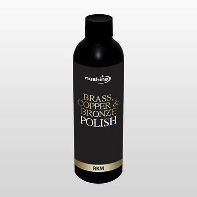 Nushine Brass, Copper & Bronze Polish 100Mls Great For Polishing Carriage Clocks