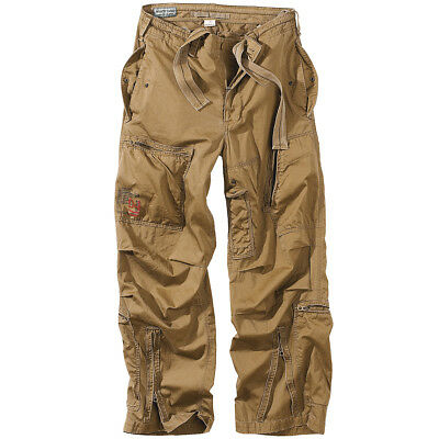 Surplus Infantry Trousers Combat Pants Mens Cargos Baggy Army Style Coyote S-Xxl