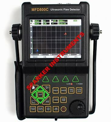 NEW Ultrasonic Flaw Detector MFD800C Defectoscope DAC AVG AWS D1.1(0-9999mm)