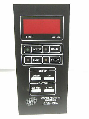 Wafer Process Systems WPT 1000T Process Timer