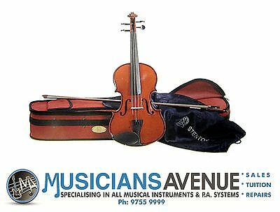 STENTOR STUDENT 2 VIOLIN + CASE + BOW (All Sizes)