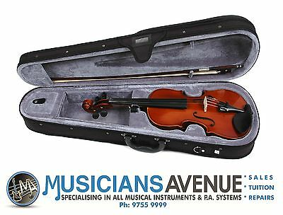 VALENCIA VIOLIN + CASE + BOW (All Sizes)
