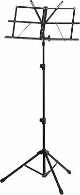 XTREME - Black sheet music stand *NEW* Heavy duty, adjustable, inc. carry bag