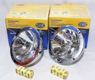 Hella Rallye Ff4000 Compact Chrome Driving Lights Brand New   ***sale Special***