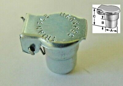 3//16 Oliver Tractor Implement Distributor Generator Oil Oiler Hole Cap Cover NOS