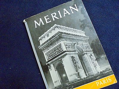 "Old Travel-Magazine: ""merian""~Paris~1954~Photography+ Nice Old Adverts"