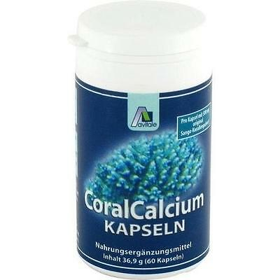 CORAL CALCIUM Kapseln 500 mg 60St PZN: 3648954