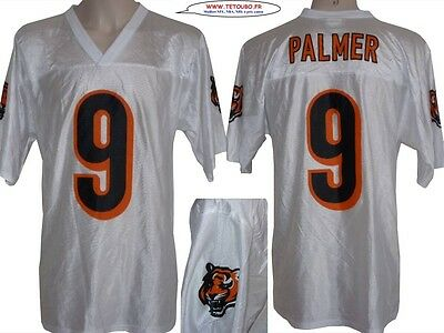 Maillot nfl Foot US américain BENGALS N°9 PALMER Taille L