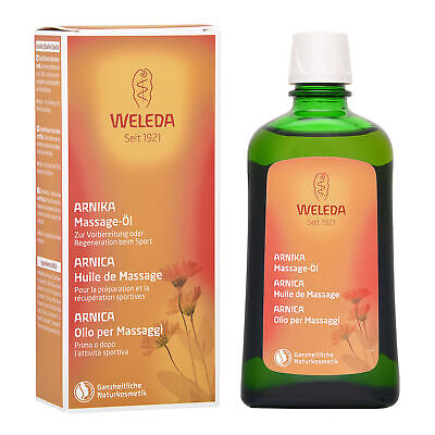 1 PC Weleda Arnica Massage Oil 200ml Rejuvenate Restore Tired Muscle Body Care