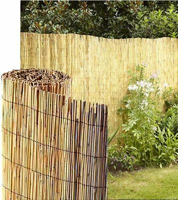 Reed Fence Screening Outdoor Garden Border Fencing Panel 1M /1.5M Height 4M Long
