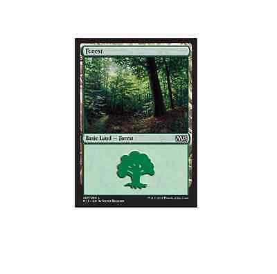 Magic the Gathering MTG Basic Land Forest x 20