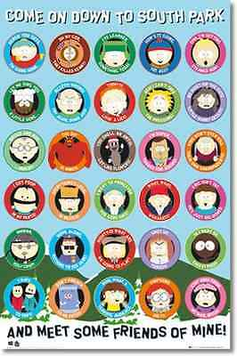 Comic Book South Park Maxi Poster 61cm x 91.5cm new and sealed