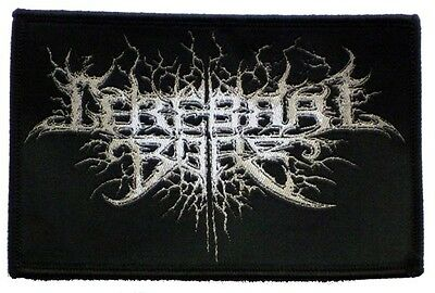 """Cerebral Bore """"Logo"""" Woven Patch - OFFICIAL maniacal miscreation devourment"""
