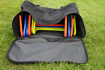 HURDLE CARRY BAG (Holds up to 12 Hurdles) football soccer training - NEW!