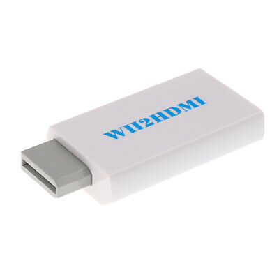 1080p 720p HDMI Converter for Wii Console Wii2HDMI Wii 2 HDMI Konverter Adapter