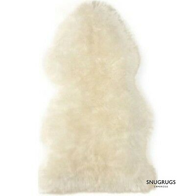 Genuine Sheepskin Rug Super Soft Wool Pet Bed Dog Cat 100% Real Sheepskin Small