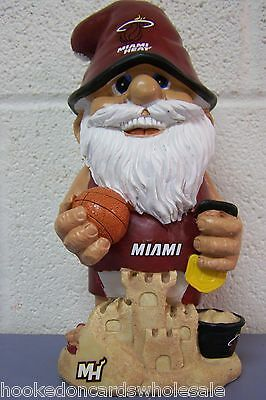 Miami Heat NBA Team Thematic Gnome - NEW!