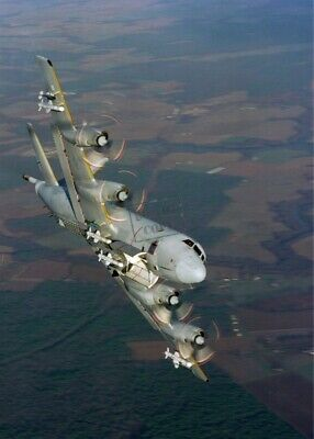 US NAVY USN P-3 Orion aircraft 8X12 PHOTOGRAPH