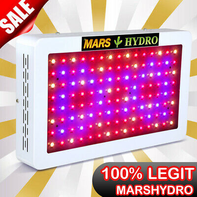 Mars Hydro 600W LED Grow Light Lamp Indoor Plants Full Spectrum Veg Bloom Garden