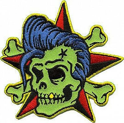 Rockin Billy Embroidered Patch Artist Reed RDP13