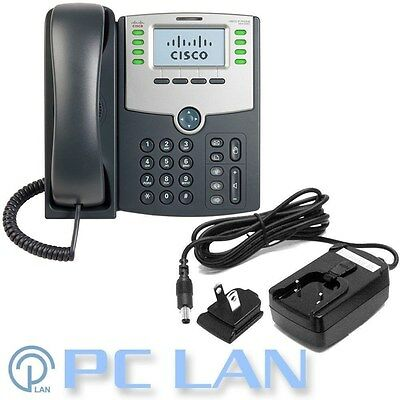 CISCO SPA504G 4-Line IP Phone with 2 Port Switch, PoE and LCD Display 1Yrs Cisco