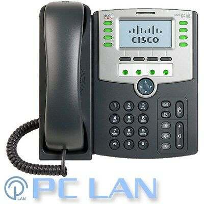 CISCO SPA509G 12-Line IP Phone with 2 Port Switch, PoE and LCD Display 1 Yrs