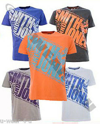 Mens Smith & Jones 'harilaos' T-Shirt. 5 Colours. M,l,xl,xxl. Vintage Style