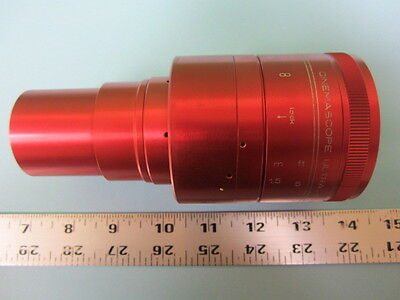 ISCO Ultra Star Plus 55mm Integrated Anamorphic 35mm Projector Lens  Red!!