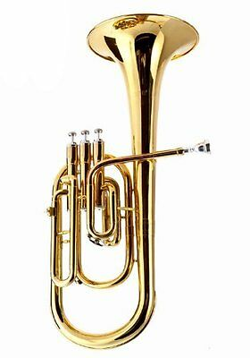 Fever Deluxe Alto Horn Lacquer With Case and Mouthpiece. 2411-1-L