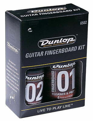 JIM DUNLOP Guitar Fingerboard Gift Pack *NEW* Inc. Cleaner, Conditioner & Cloth