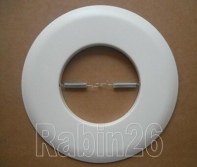 "6"" Inch Recessed Can Light Open 301P Metal Trim Ring R30 Par30 White"