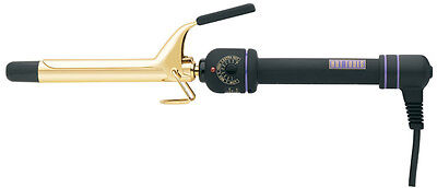 """Hot Tools 1101 Professional Gold Spring Curling Iron Multi Heat Control  3/4"""""""