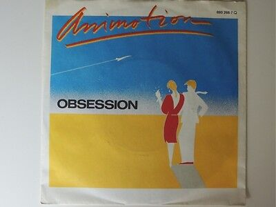 "Animotion - Obsession   7"" Vinyl Single"