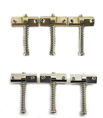 Telecaster Compensated Saddle Set - Brass or Steel