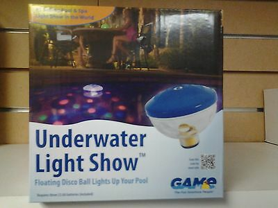 Pool Spa Underwater Light Show --INCLUDES (7) SEVEN COLOR SHOWS