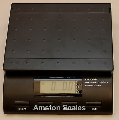 76 LB x 0.2 OZ DIGITAL SCALE POSTAL POSTAGE SHIPPING USPS UPS FEDEX PACKAGE MAIL