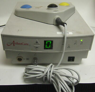 ArthroCare Arthroscopic Electrosurgery System 2000 Shaver with Foot Control