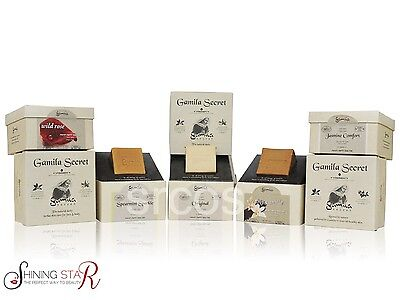 GAMILA SECRET NATURAL OLIVE ORGANIC SOAP With Original Box