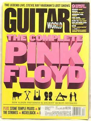 GUITAR WORLD December THE COMPLETE PINK FLOYD STEVIE RAY VAUGHAN INCUBUS 2001