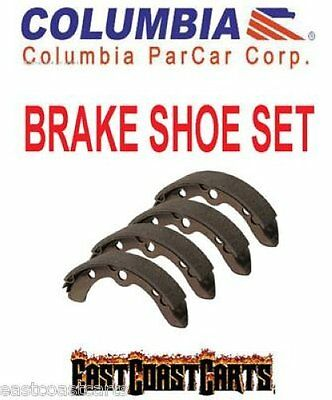 Columbia Par Car /HD Golf Cart Rear Brake Shoe (set of 4) 41819-86