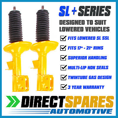 2 Front Struts Holden Commodore VR VS VT VX VY  Super LOW  Shock Absorbers