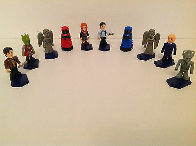 Character Building SERIES 1 Doctor Who - Blue, Red DALEK, SERENE, BLUE SHIRT,