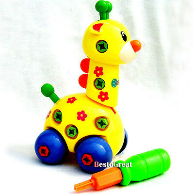 Baby Child Children Kids Boys Funny intellectual giraffe car toy
