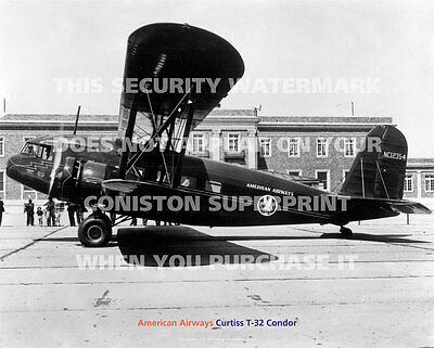 """AMERICAN AIRWAYS CURTISS CONDOR 20"""" x 16"""" 51 x 41 CM POSTER PRINT PICTURE IMAGE"""